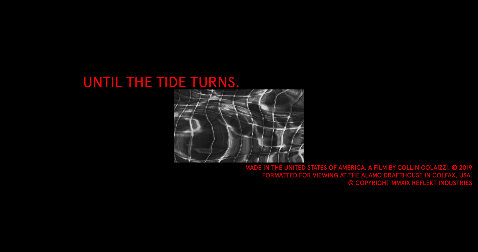 Until the Tide Turns